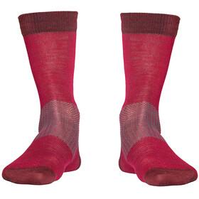 Röjk Everyday Merino Socks Unisex Wild Cherry Solid